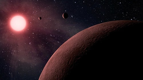 10 new near-Earth size planets found in a star's habitable zone were found in the new Kepler data. Source: NASA