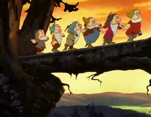 Snow White was the first fully hand drawn animated movie released. It was released in 1937 and animation technology has come a long way since then.