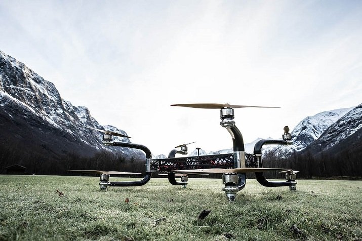 Weighing 165 pounds, the Griff 300 drone can carry payloads more than three times its size. Source: Griff Aviation