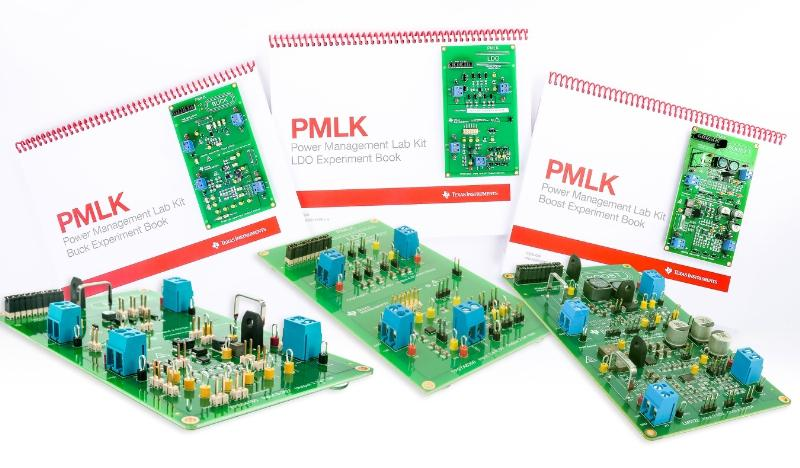 The Power Management Lab Kit series from Texas Instruments lets students and industry engineers explore and investigate buck, boost and linear DC/DC power supplies. Image source: Texas Instruments.