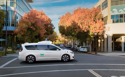 Waymo will use the new minivans to jump start its autonomous ride-hailing service. Source: FCA
