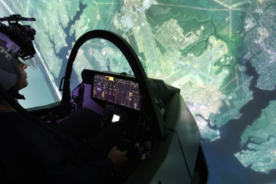 F-35 Lightning II pilots at Hill Air Force Base are rehearsing missions with new simulators. (Source: Lockheed Martin)