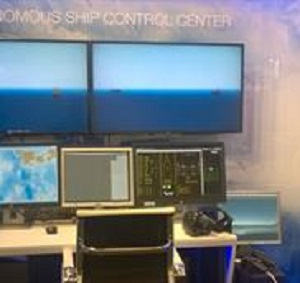 Control room for an autonomous ship. (Source: VTT Technical Research Centre of Finland)