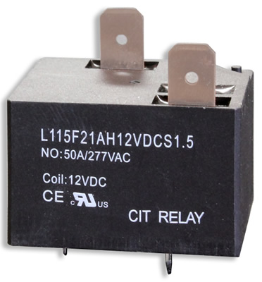 CIT Relay & Switch L115F2 Series Latching Relay. (Source: CIT Relay & Switch)