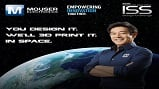 Engineer Grant Imahara's latest project with Mouser involves 3-D printing and the International Space Station. Source: Mouser