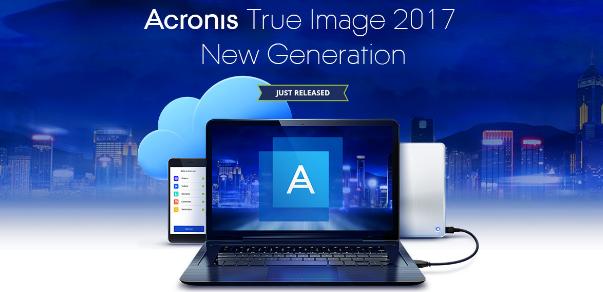 Acronis True Image 2017 NG protects backups and files.