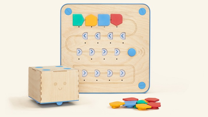 The Cubetto coding system. (Credit: Primo Toys)