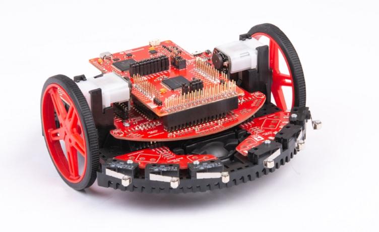 TI introduces new university robotics learning kit