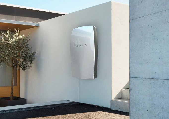 The Tesla Powerwall energy storage unit is a key aspect of the purchase of SolarCity with plans to combine it with a residential solar energy solution. Source: Tesla