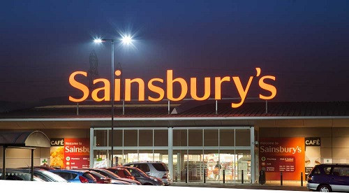 Sainsbury's move to LED lighting will reduce greenhouse gas emissions by 3.4 percent annually. Image credit: Current