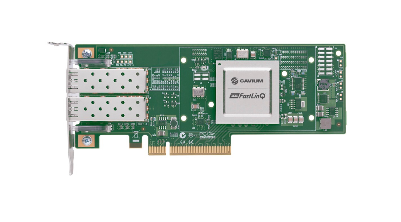 The New FastLinQ 4100 Series. Image credit: Cavium