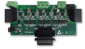 The GaN-based inverter reference design. Image credit: Texas Instruments