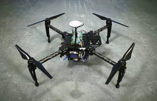 Intelligent Energy's drone prototype uses a hydrogen fuel cell powered range extender. (Source: Intelligent Energy)