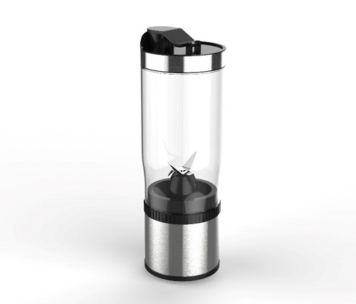 A blender you can take camping or road trips. Source: Rocket Bottle