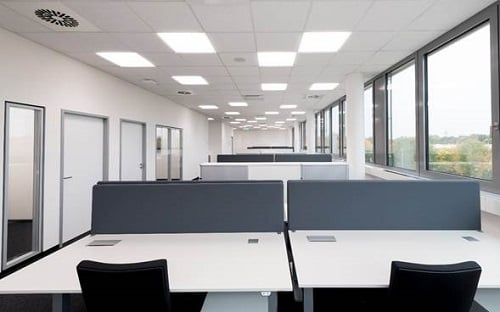 Office lighting installed in Osram's headquarters. Source: Osram Opto Semiconductors