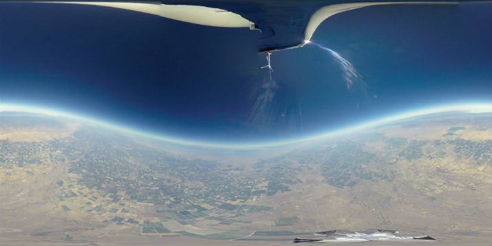 Overview's skills demonstrated on a weather balloon. (Image Credit: SpaceVR)