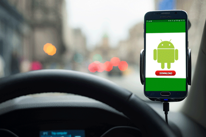 Researchers reveal that some Android apps may automatically transmit information such as travel routes via the phone's built-in sensors. (Image Credit: Younghee Jang/Northeastern University)