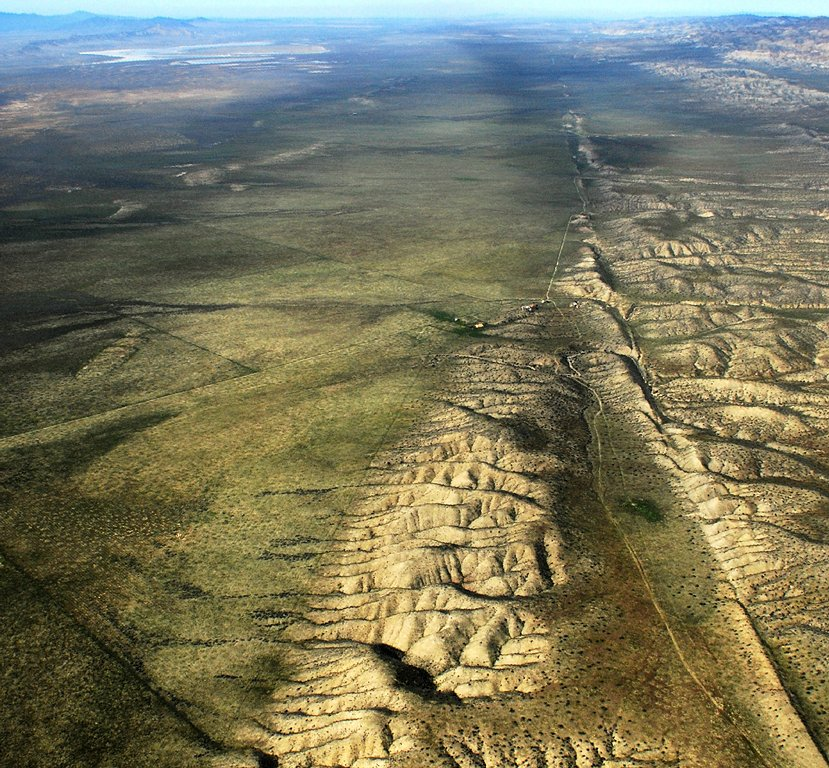The San Andreas Fault. Source: John Wiley/Wikicommons