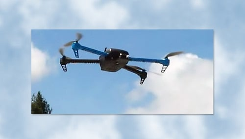 If deployed sensibly, drones could be a way to reduce greenhouse gas emissions for package delivery. Source: LLNL