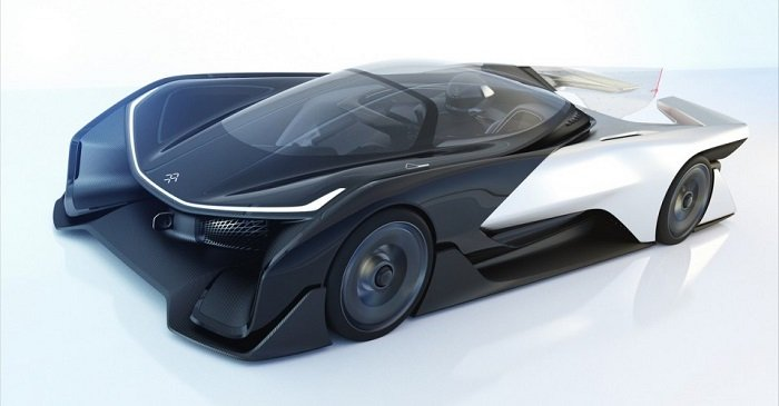 Faraday Future's FFZero1 Electric Vehicle