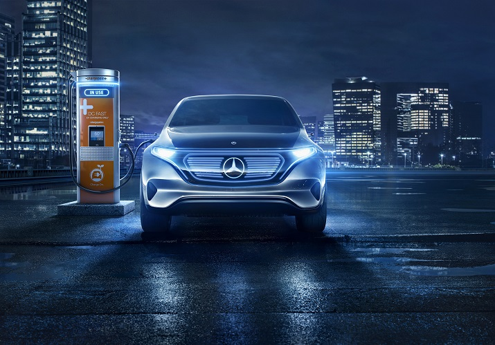 Daimler plans to spend about $10.5 billion to expand its electric mobility infrastructure and services, including charging stations. Source: Daimler
