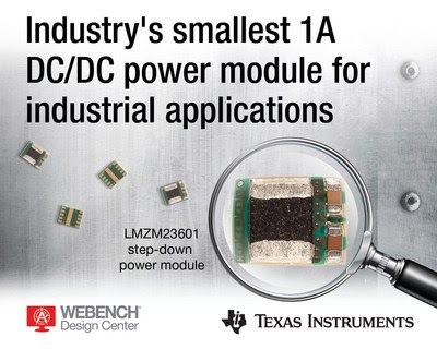 The LMZM23601 power module. Source: TI