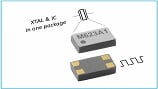 Low-frequency oscillator comes in package measuring just 1.2 x 2.0 x 0.7 mm. Source: Micro Crystal.