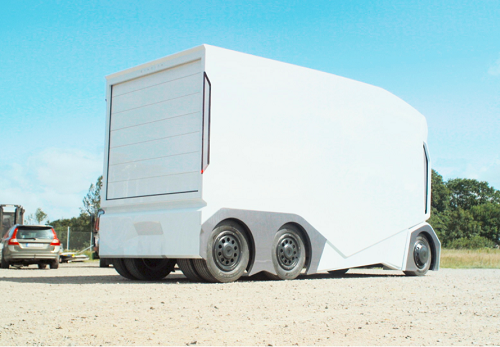 The prototype T-Pod electric truck. (Source: Einride)