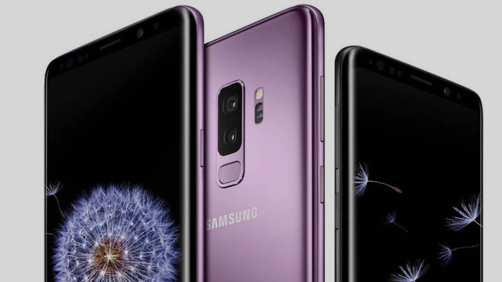 Galaxy S9 smartphone. Source: Samsung