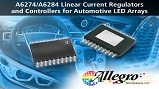 A6274 and A6284 linear current regulators. Source: Allegro Microsystems
