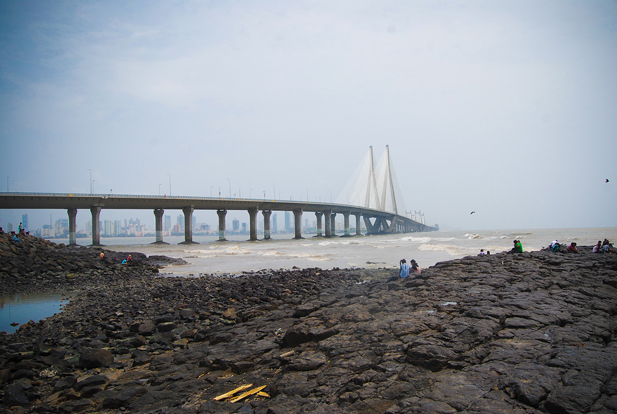The Bandra-Worli Sea Link, Rajiv Gandhi