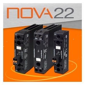 Crydom's NOVA22s solid state relay (Source: Crydom).