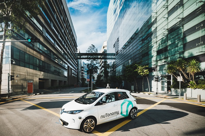 nuTonomy will use the data from the trials in order to prepare for a commercial fleet of robo-taxis in Singapore in 2018. Source: nuTonomy