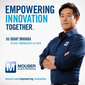 Grant Imahara Stars in the Empowering Innovation program. (Source: Mouser)