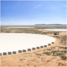Mid-Frequency Aperture Array in South Africa. Photo credit: SKA Organization