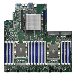 The EPC622D24LM motherboard for datacenters, e-commerce and virtualization servers. Image credit: ASRock Rack
