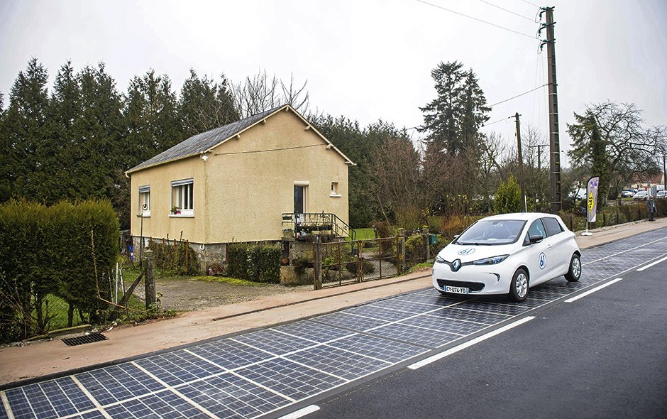 Wattway A Photovoltaic Road Electronics360