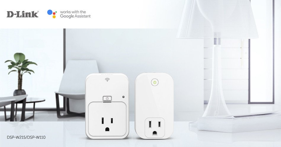 Smart Plugs now compatible with Google Assistant. Image credit: D-Link