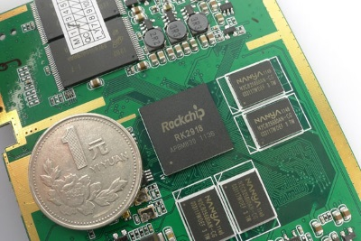 Rockchip is a licensee of both ARM and x86 platforms.