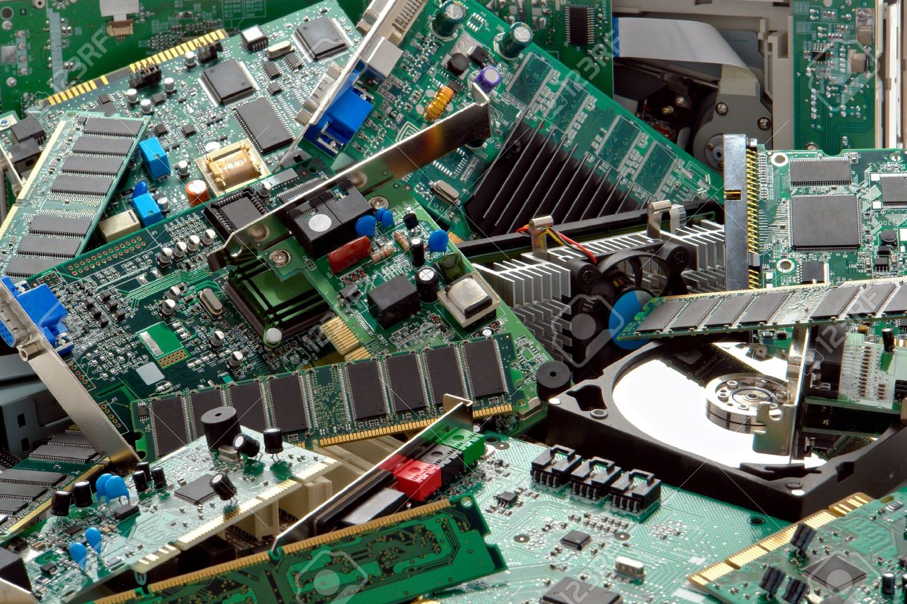 Uses For Gold Electronic : Simplified method to recover gold from electronic scrap