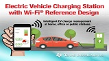 Wi-Fi Reference design for EV charging station. Source: Texas Instruments.