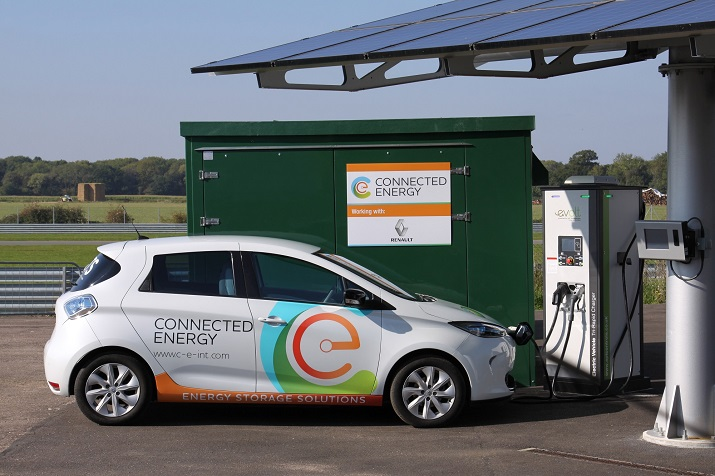 The collaboration will take recycled EV batteries to be used in other energy storage applications. (Source: Renault)