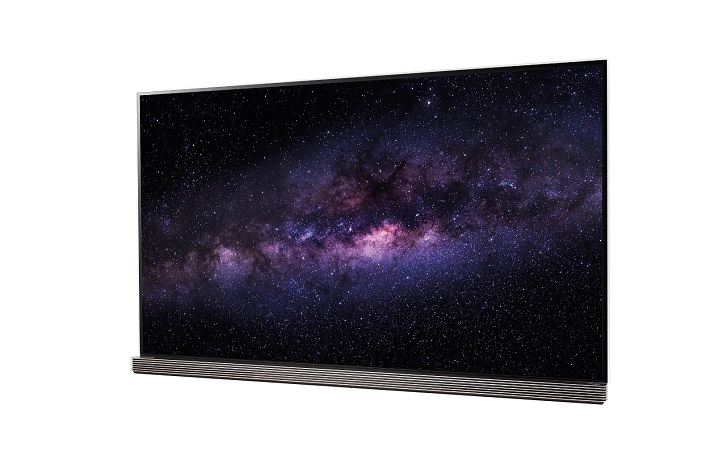 The Signature OLED TVs feature 4K resolution with high dynamic range as well as LG's Smart TV platform. Image source: LG Electronics