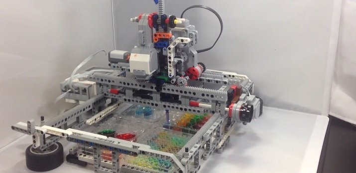 The robotic kit is made from off-the-shelf parts that help students learn biology, chemistry and medicine. Source: Stanford University