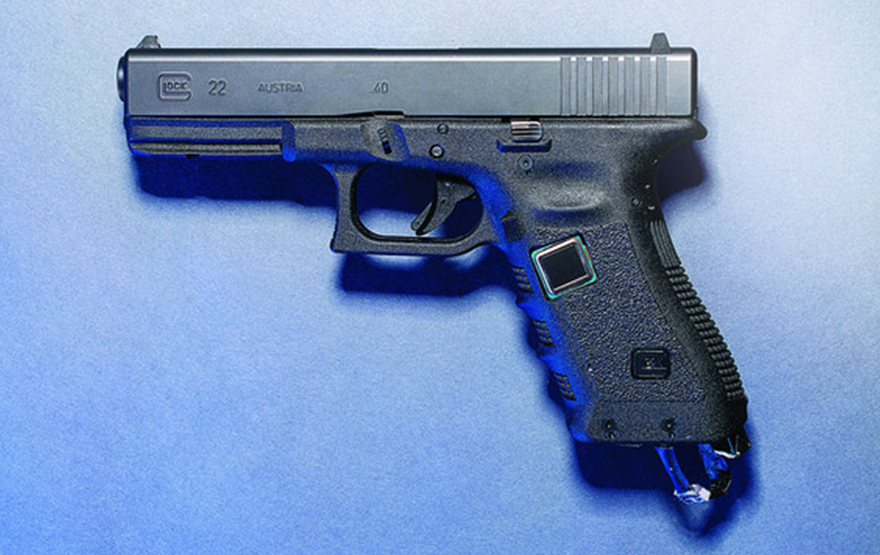 One of the guns on the market with fingerprint access technology (Image credit: Matt Nager/Wall Street Journal)