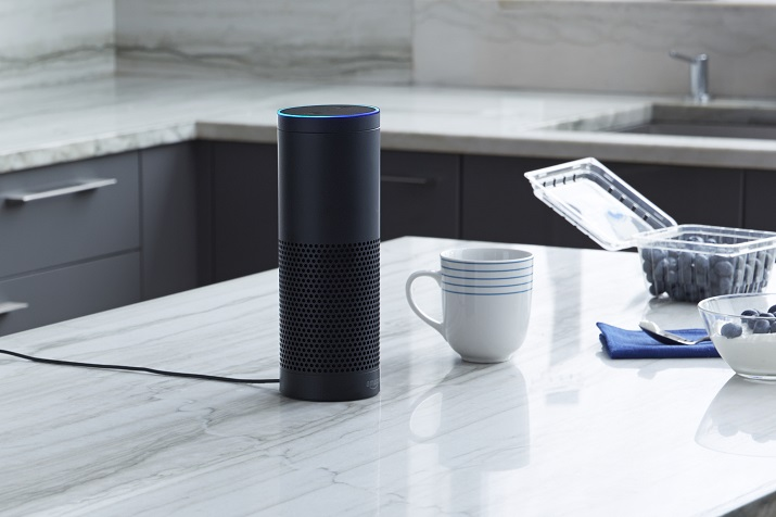 The Amazon Echo, powered by Alexa, is one Smart Home product that can now be used to command GE appliances through voice. Source: Alexa