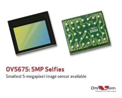 OmniVision Technologies OV5675 and OV5695.  Image source: OmniVision Technologies, Inc.