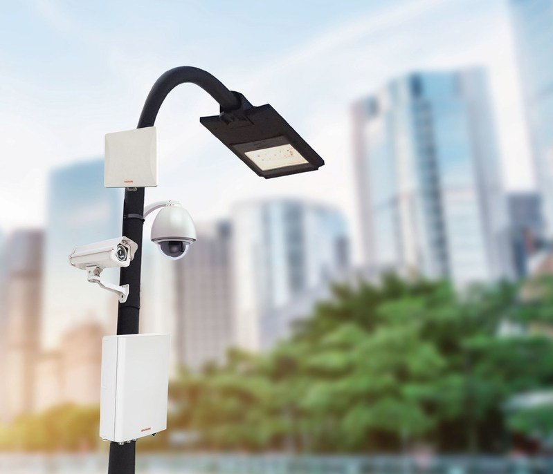 RADWIN Smart-Node all-in-one Communication & Power Solution for Smart Cities (RADWIN)
