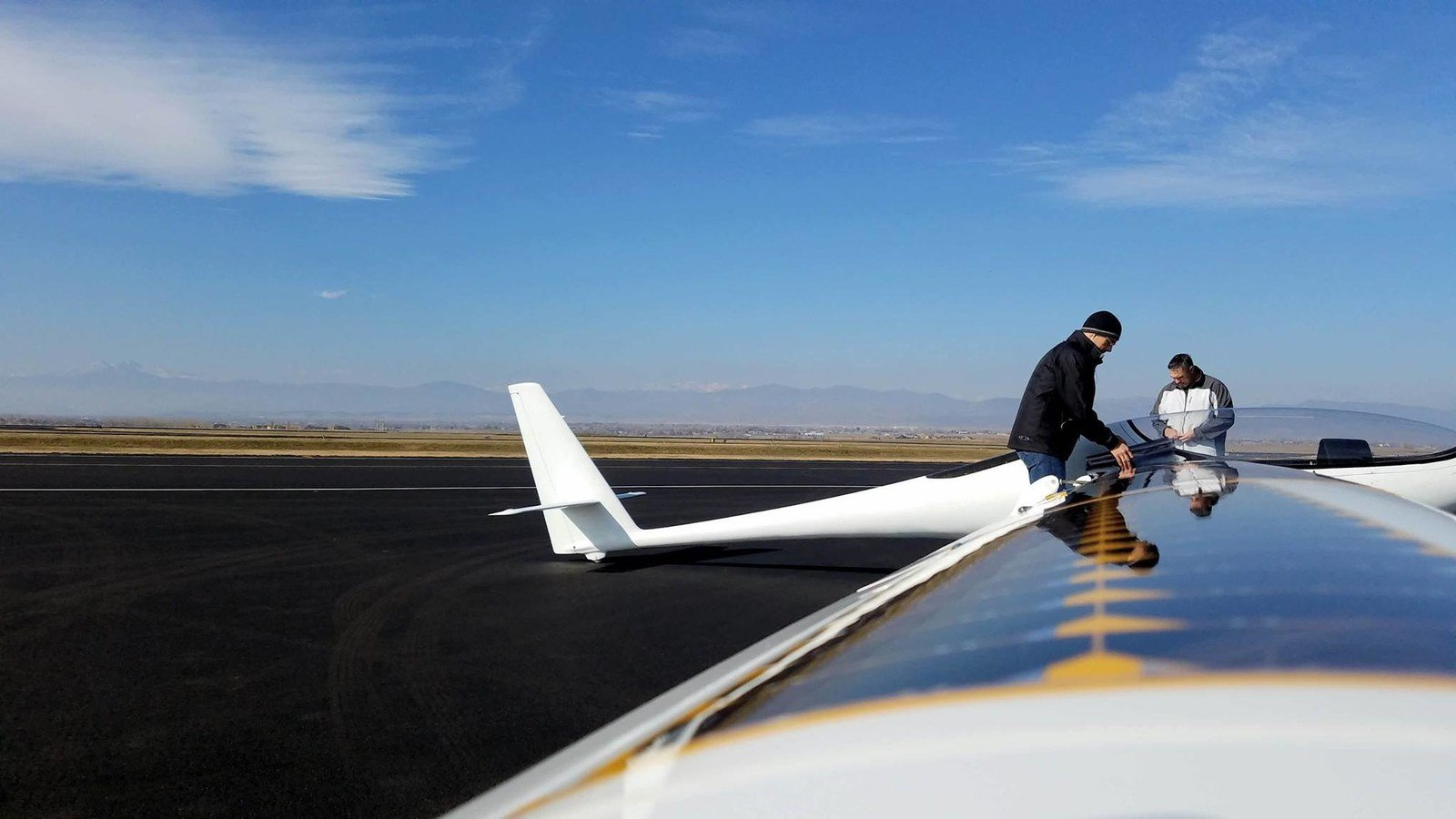 Bye Aerospace StratoAirNet with integrated wings populated with SolAero Solar Cells. Source: SolAero