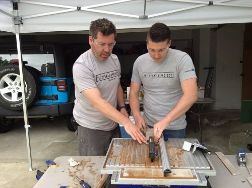 Lowe's UpSkill Project gives homeowners skills to complete their own projects. Image credit: Lowe's